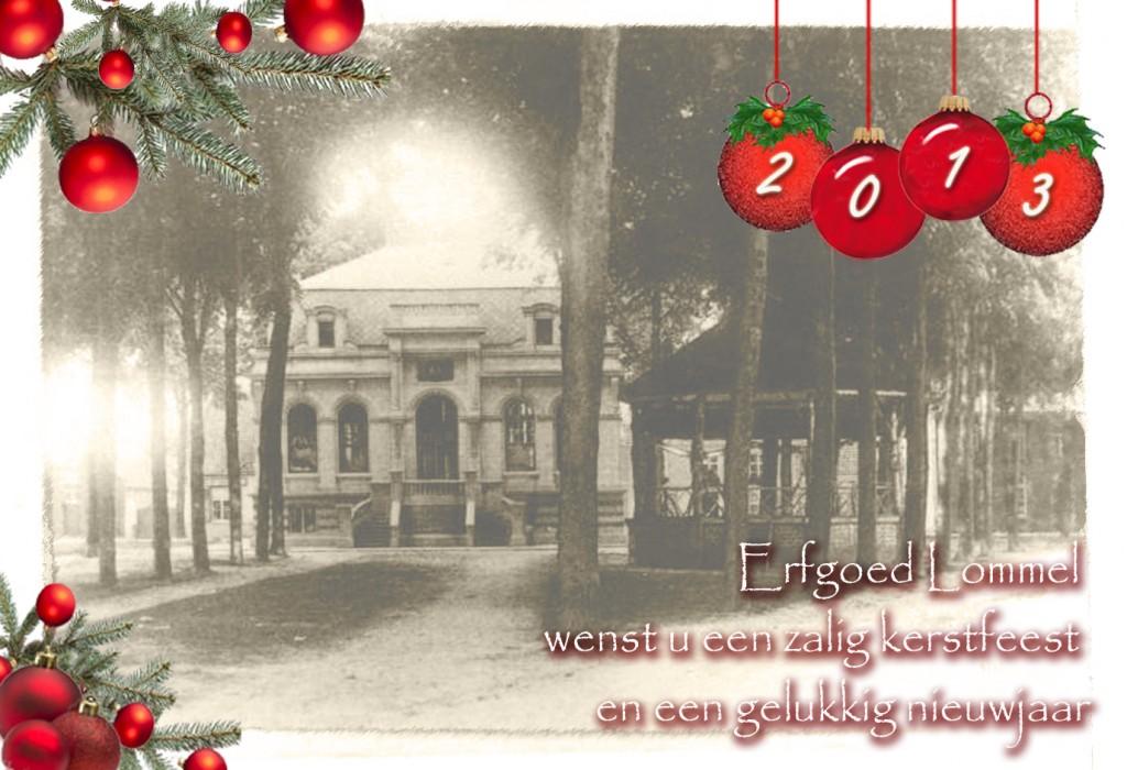 Zalig Kerstfeest En Gelukkig Nieuwjaar Erfgoedhuis De Barrier